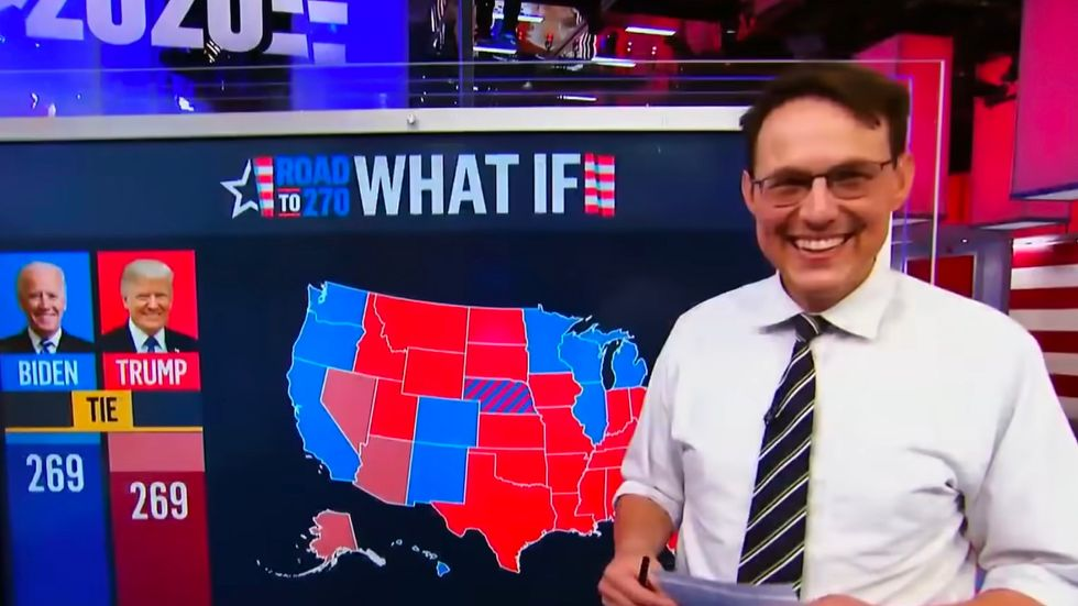 The Best Tweets About America's New Internet Boyfriend, Steve Kornacki
