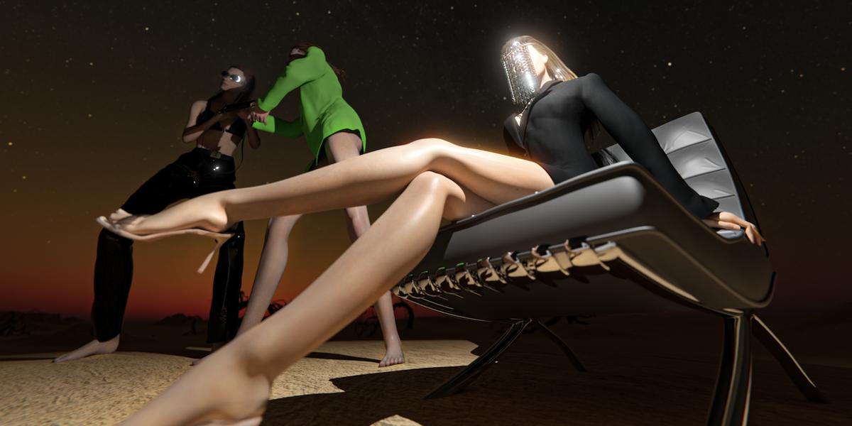 Escape to David Koma's Fashion-Filled 3D World