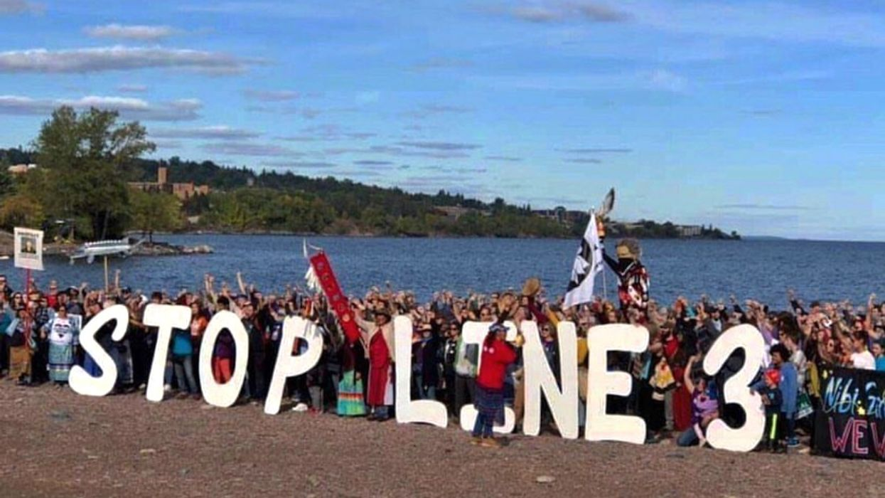 Indigenous and Climate Leaders Outraged Over Minnesota Permits for Line 3 Pipeline