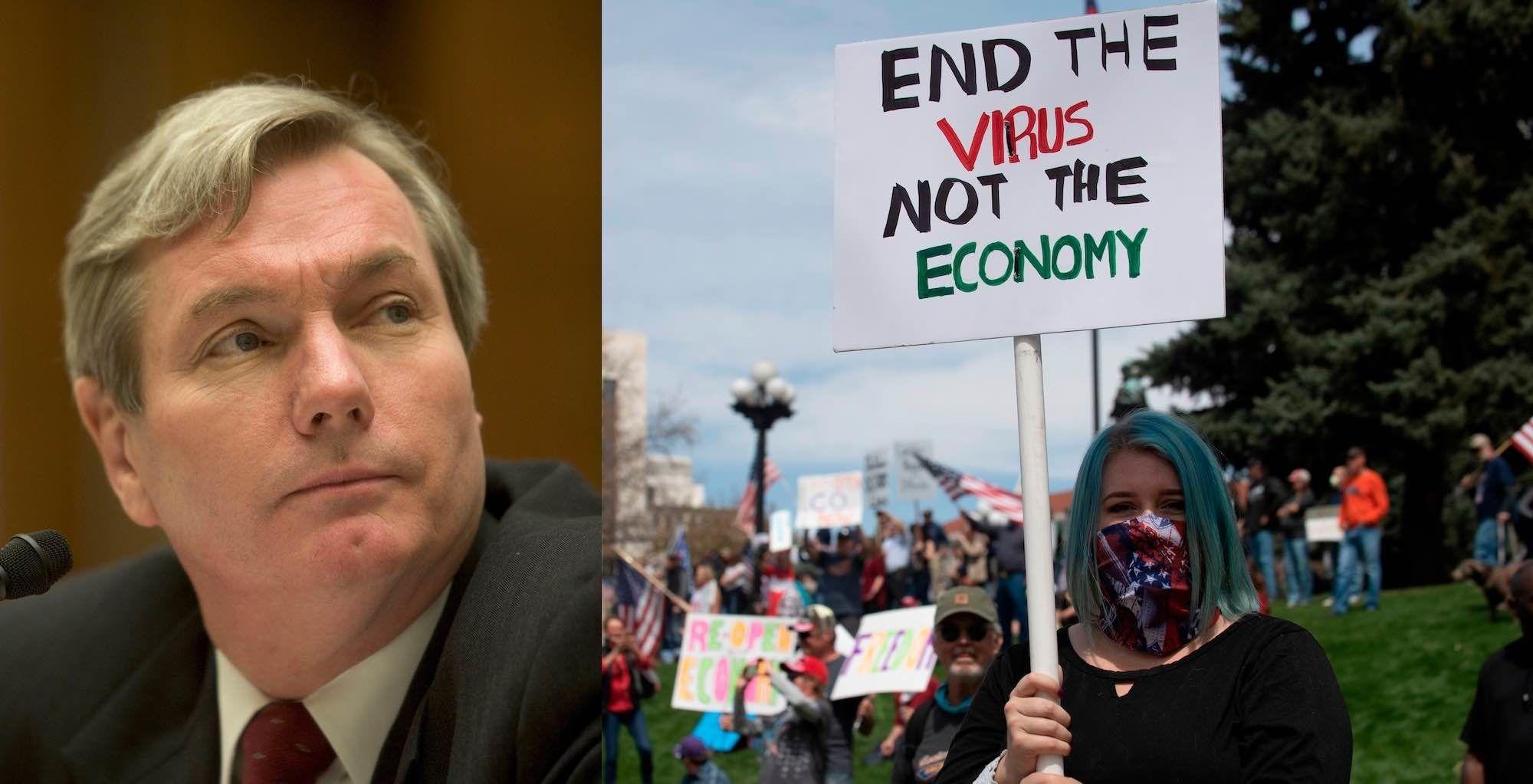 Joe Bidens prolockdown COVID adviser warned against a national shutdown last spring A national lockdown is no cure
