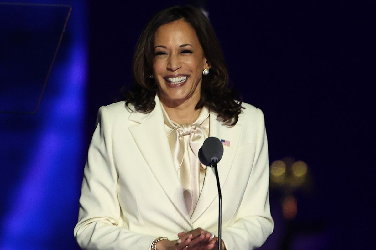 To Talk or Not to Talk About Kamala Harris' Wardrobe