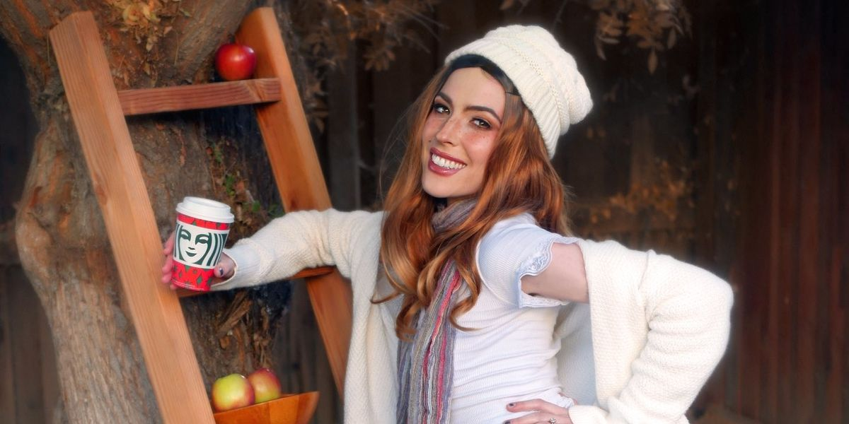 Dorian Electra Does Christian Girl Autumn Cosplay in 'F the World'