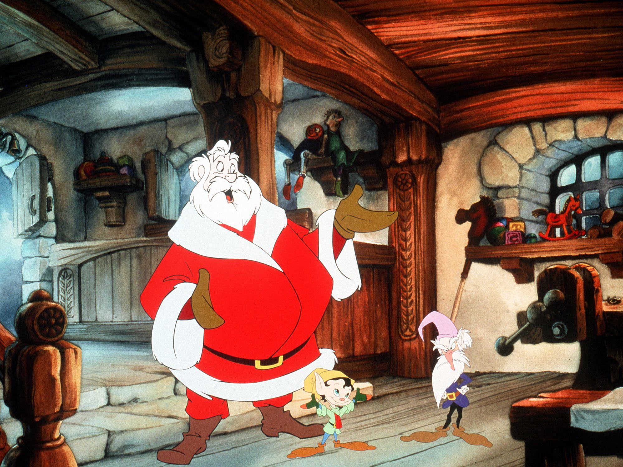 \u200bSanta and his elves