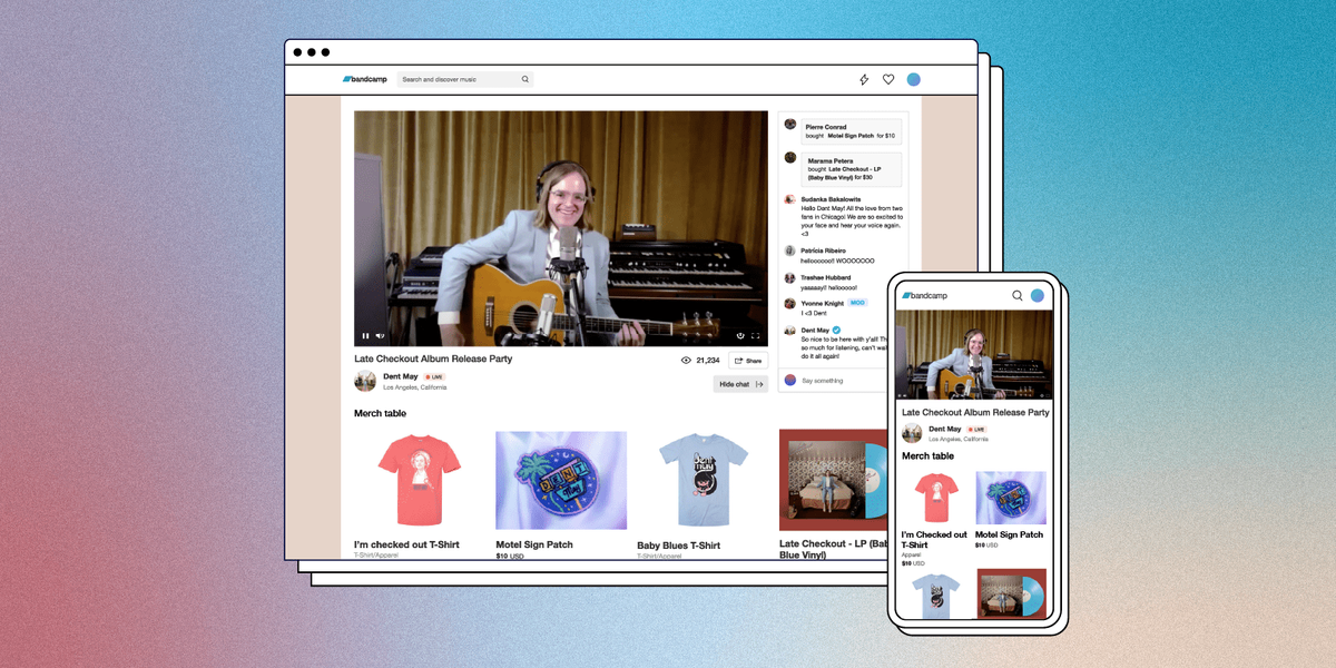 Bandcamp Announces New Livestream Service for Artists