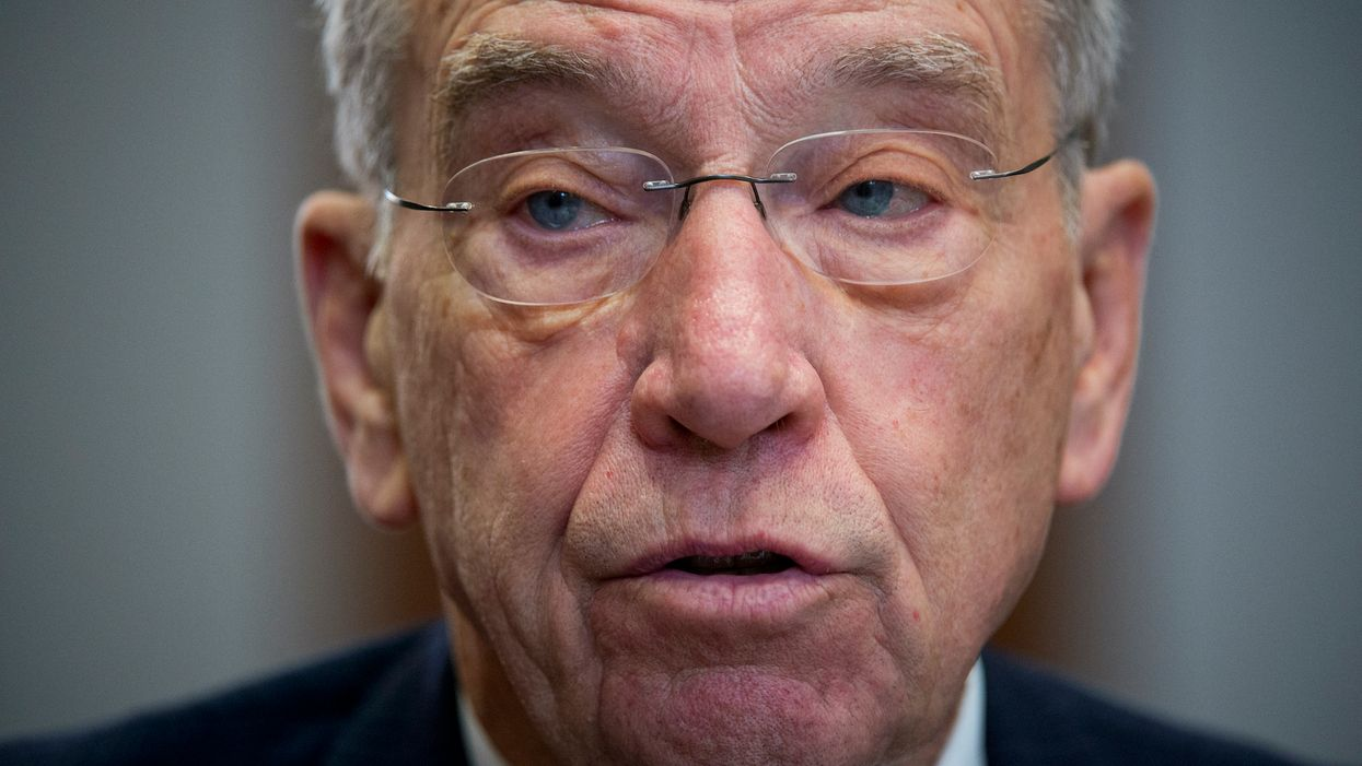 Breaking: GOP Sen. Chuck Grassley says he's tested positive for COVID-19