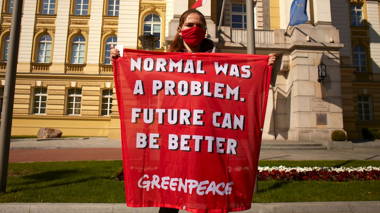 Greenpeace Releases Sweeping Policy Plans To Fight Inequality, Racial Injustice, COVID-19 and Climate Crisis