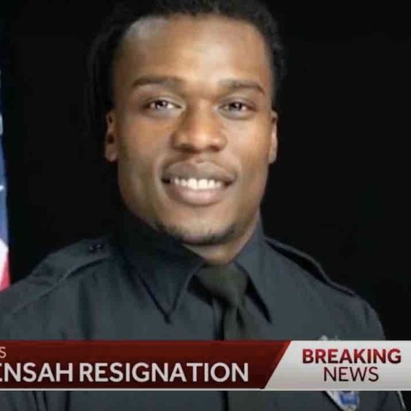 Black officer to resign after fatally shooting three minorities in five years. Black Lives Matter mob allegedly shot at officer during August protest.