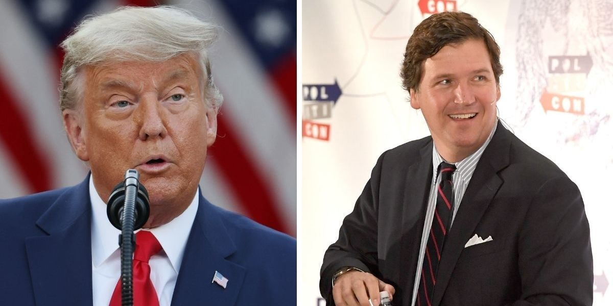 Trump Tweets Incorrect News That Was So Egregious Tucker Carlson Had Already Apologized For It