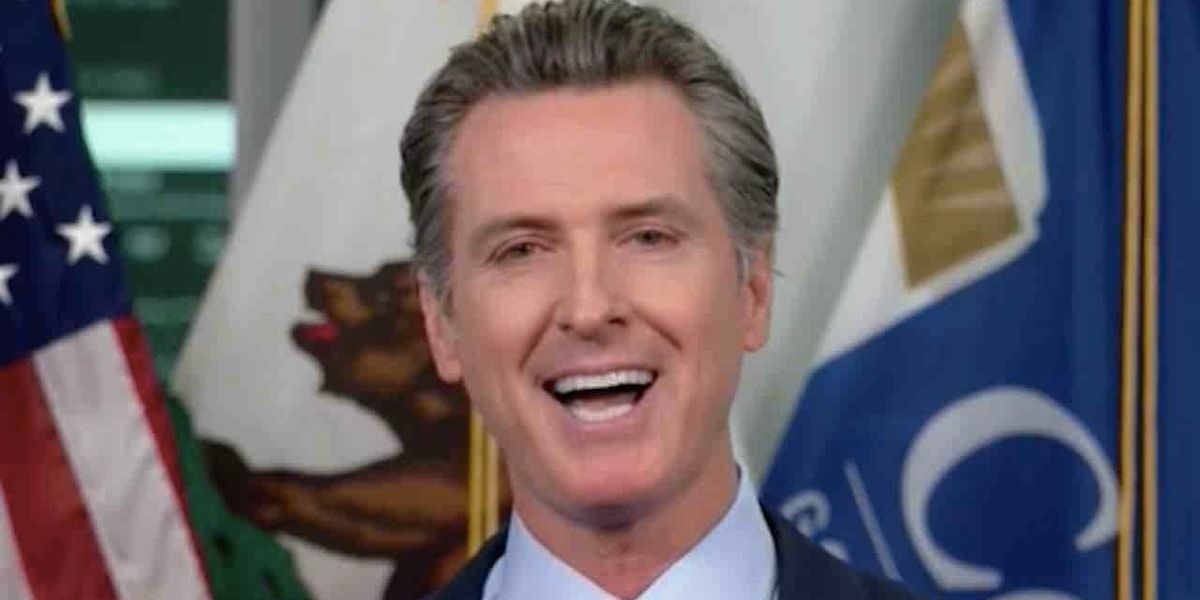 Medical association officials dined in style with Gavin Newsom — apparently without masks — despite governor's own COVID-19 ban