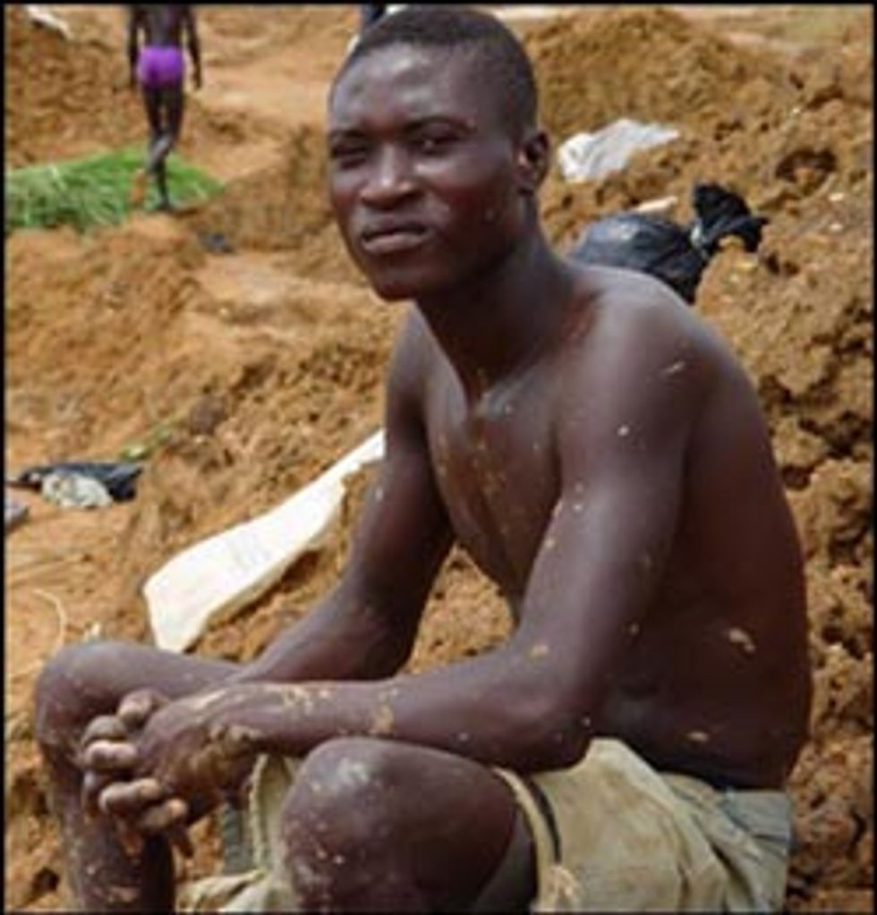 Blood Diamond Comes to Silver Screen