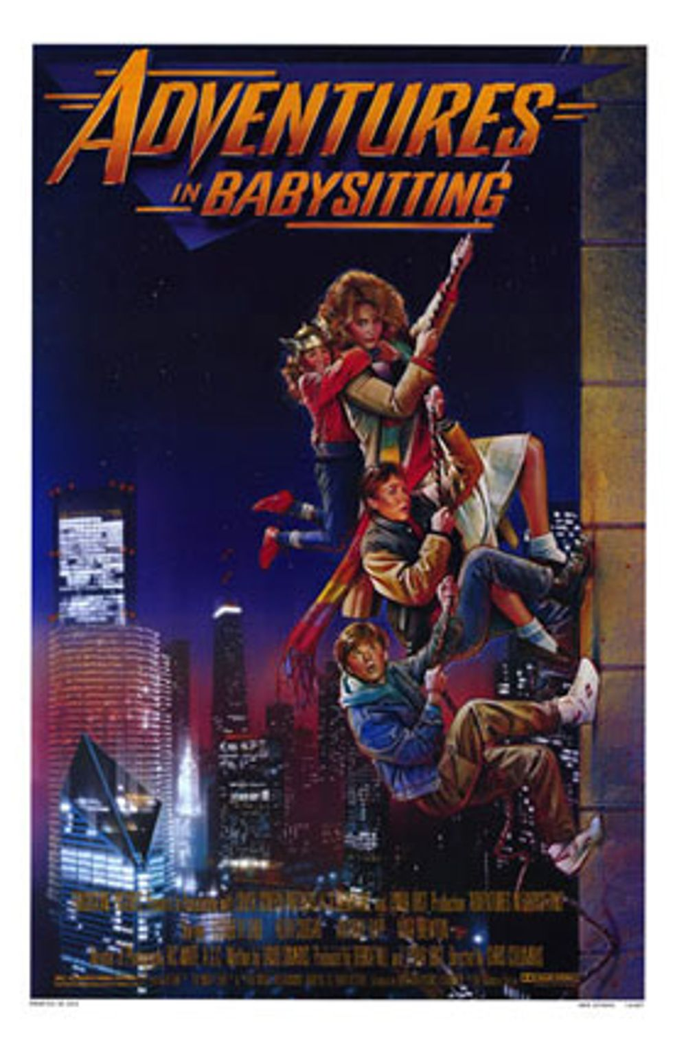 The New Adventures in Babysitting