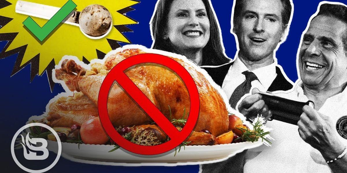 Democrats say NO to Thanksgiving, while Oregon decriminalizes Methamphetamine