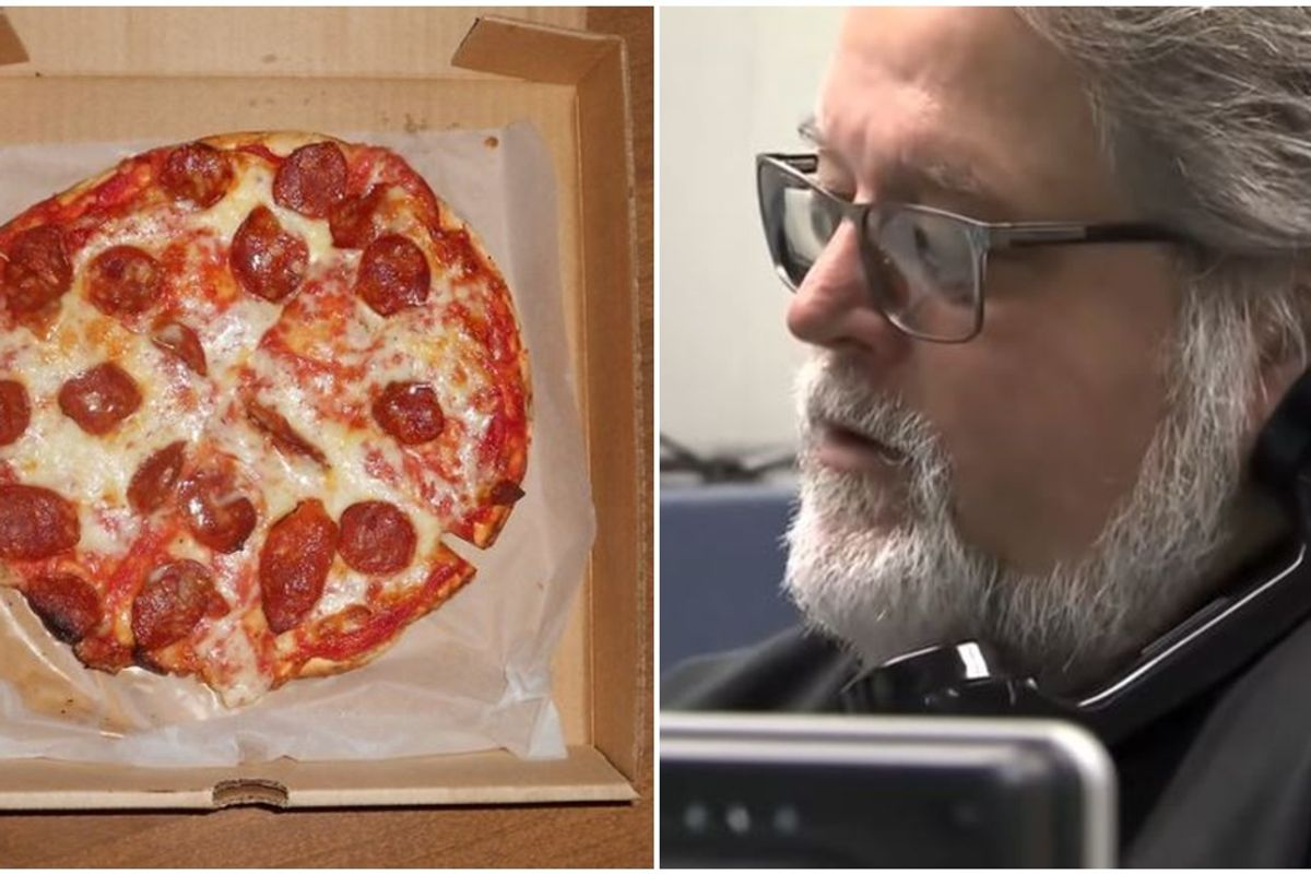 Quick-thinking 911 operator gets a call for a 'large pizza' and realizes something is very wrong