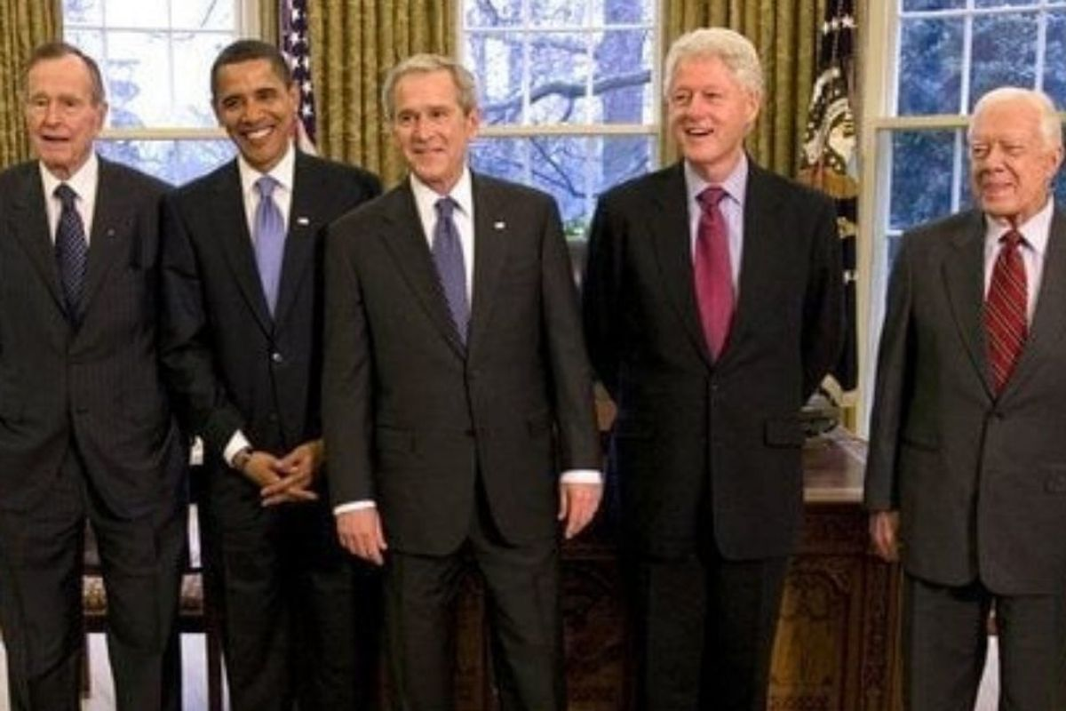 Obama's post-election lunch with the former presidents is what America should look like