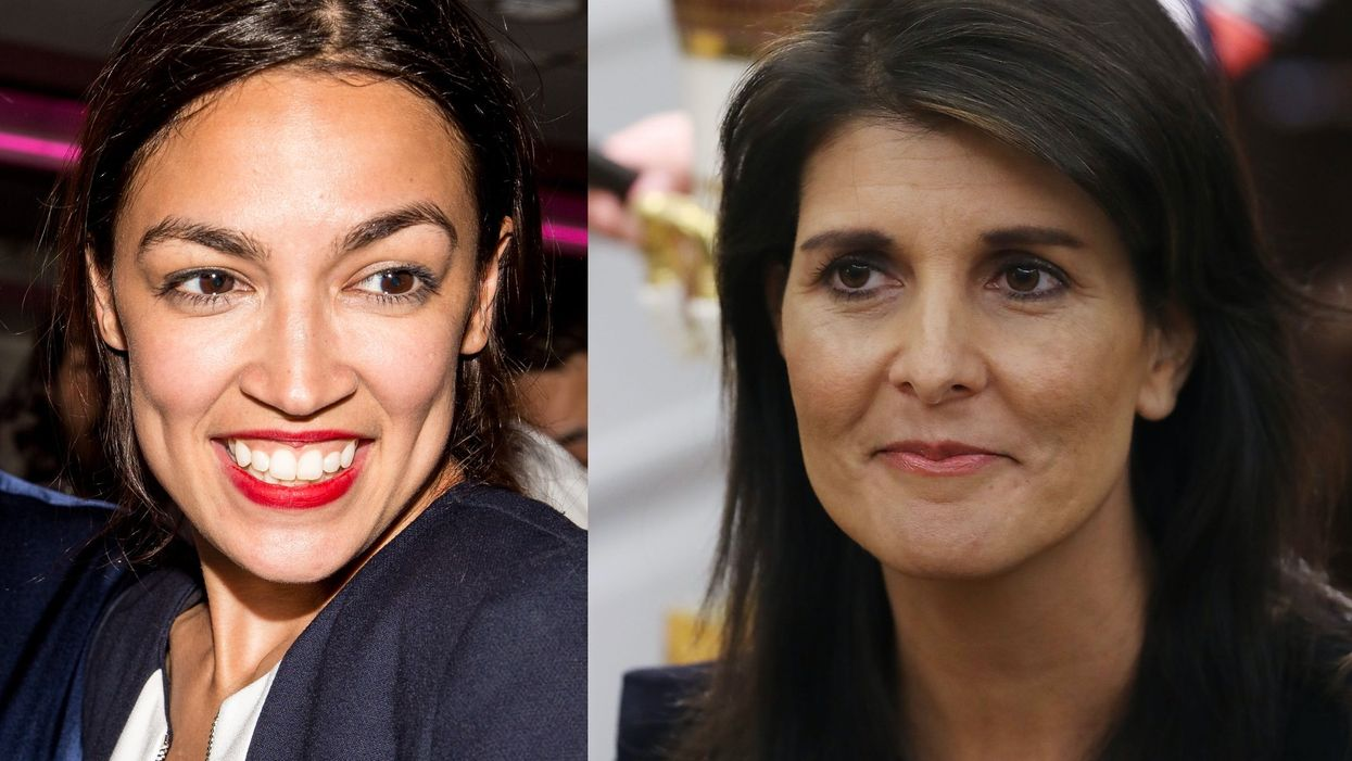 Nikki Haley shuts down Ocasio-Cortez over her solution to the pandemic, and she is not happy about it