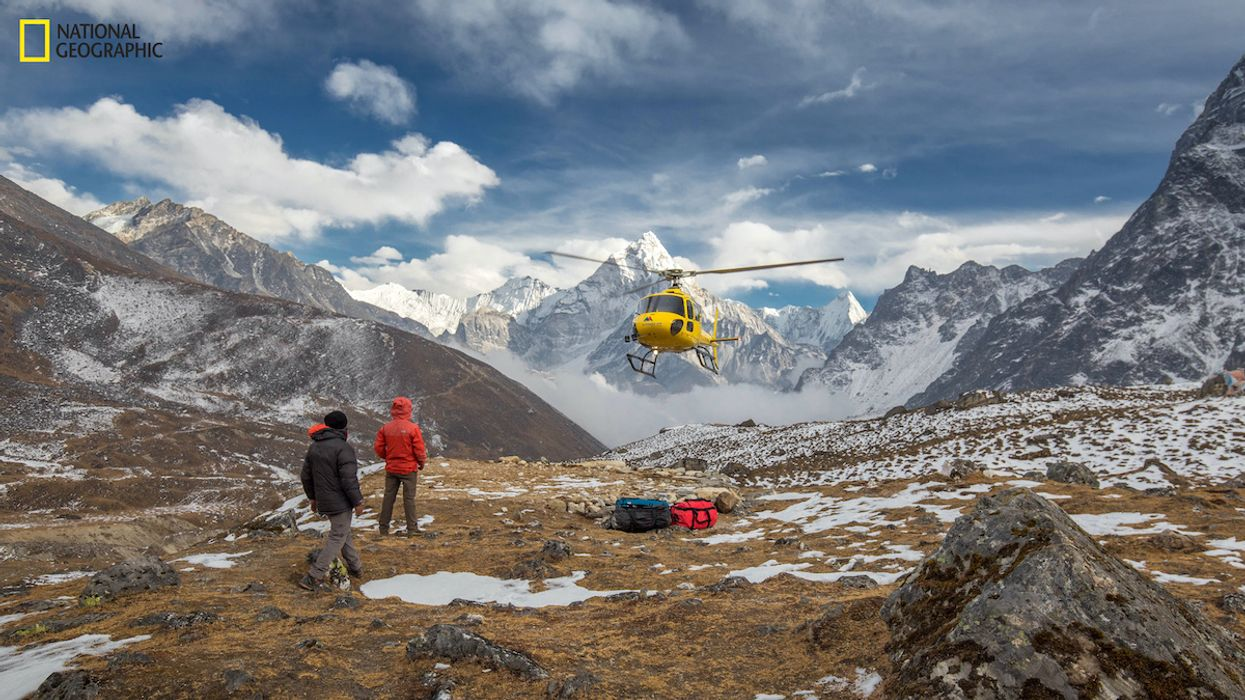 Microplastics Discovered Near Mount Everest Summit