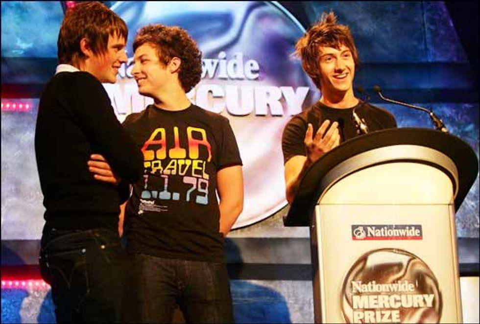 Arctic Monkeys Win 2006 Mercury Prize!
