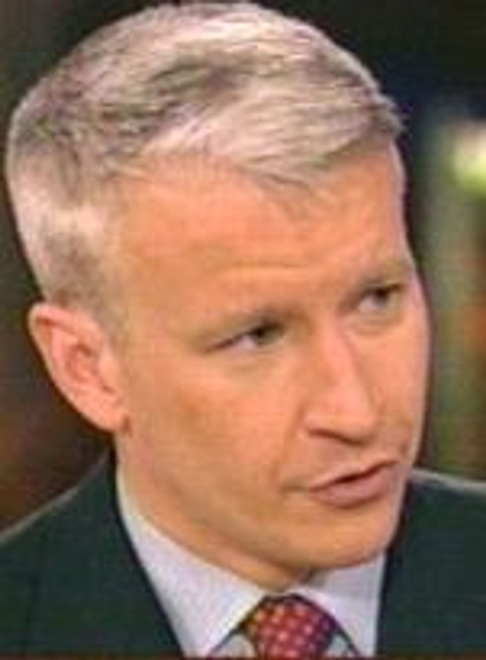 Anderson Cooper as James Bond's CIA Sidekick?