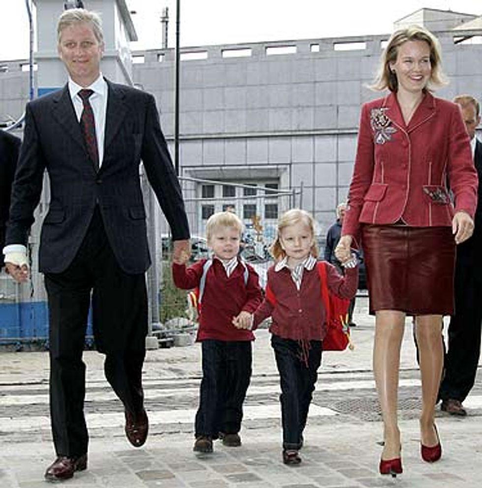 First Day of School in Belgium!