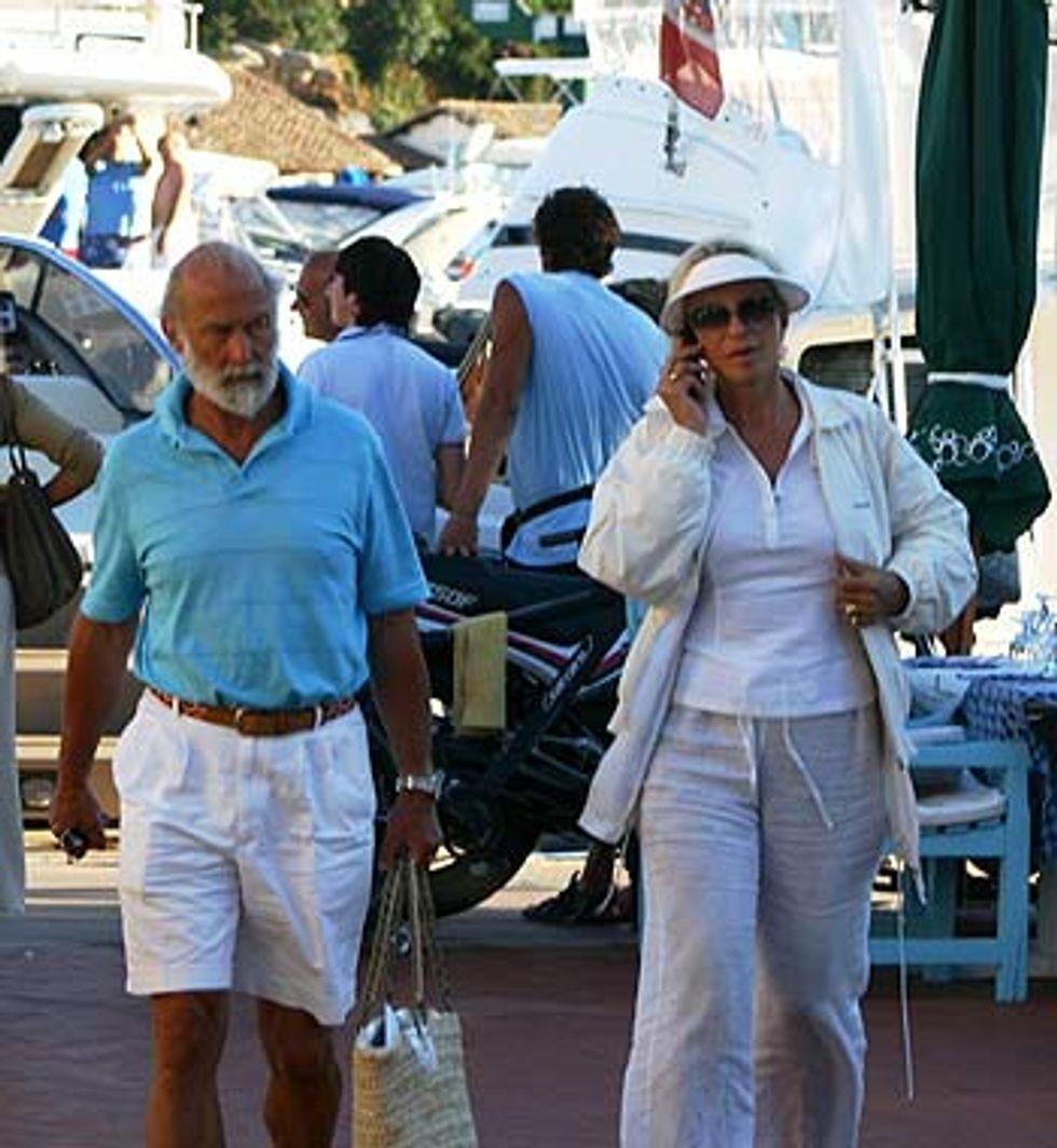 The Kents in Sardinia