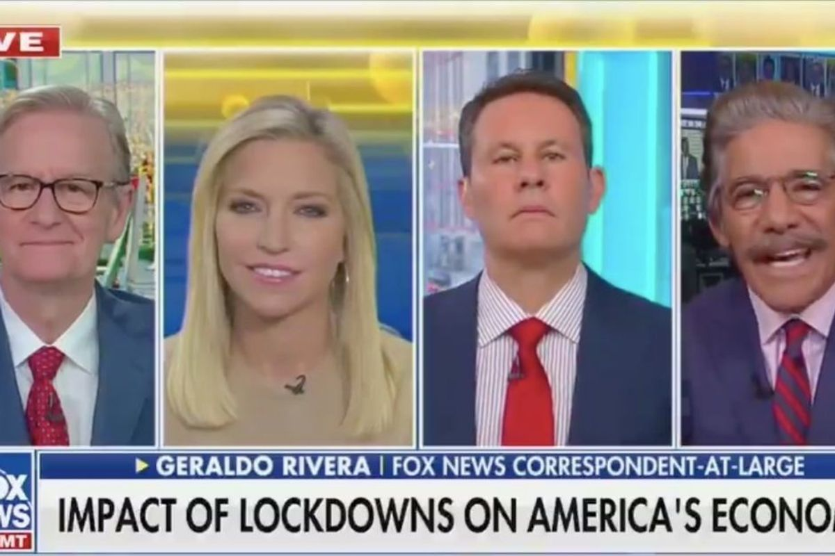 Geraldo Rivera suggested we name the COVID-19 vaccine after Trump—for real