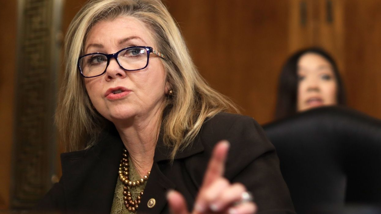 Aide to Sen. Marsha Blackburn says Republican 'misspoke' by referring to Biden as 'president-elect'