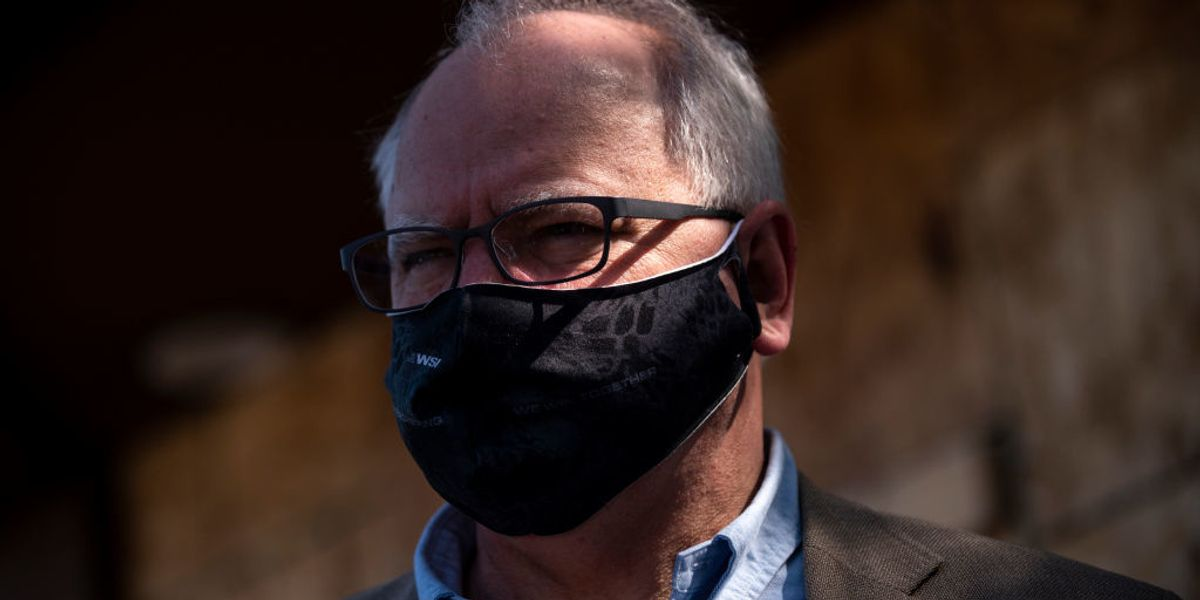 Democratic Minnesota Governor's 4-week lockdown banning ALL social gatherings, sparks protest at Tim Walz's mansion