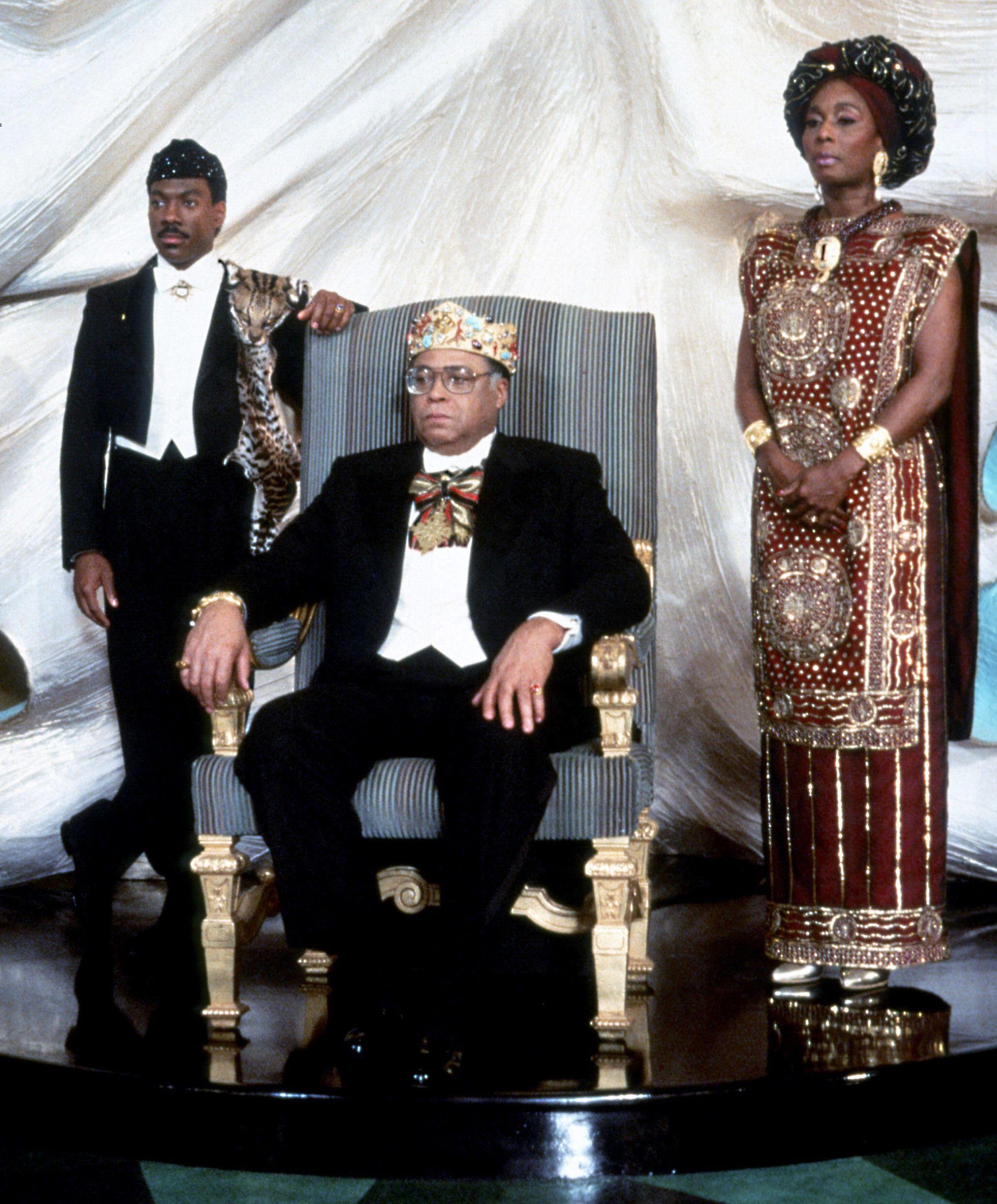 Prince Akeem, King Jaffe, and Queen Aoleon \u200b