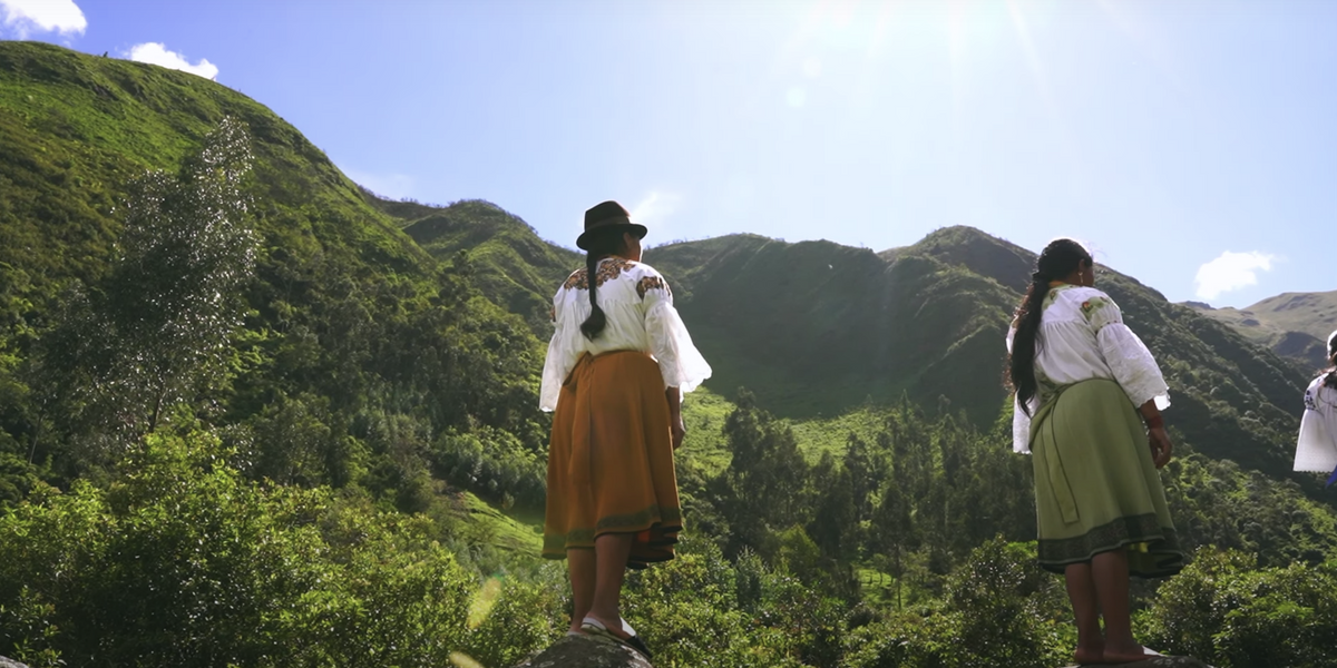 The Ecuadorian Label Preserving Generations of Indigenous Women's Craft