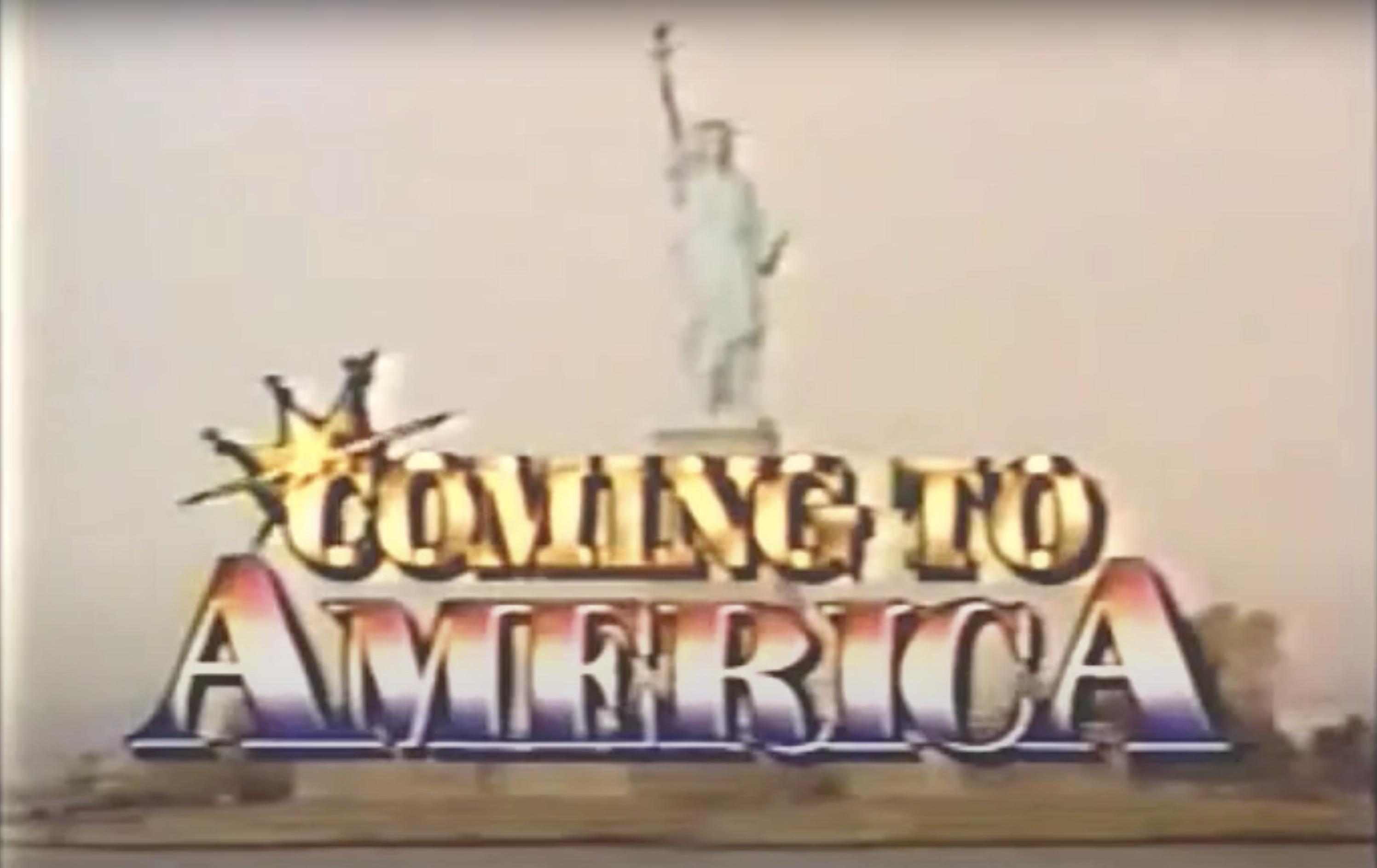 \u200bThe opening credits of the Coming to America sitcom pilot