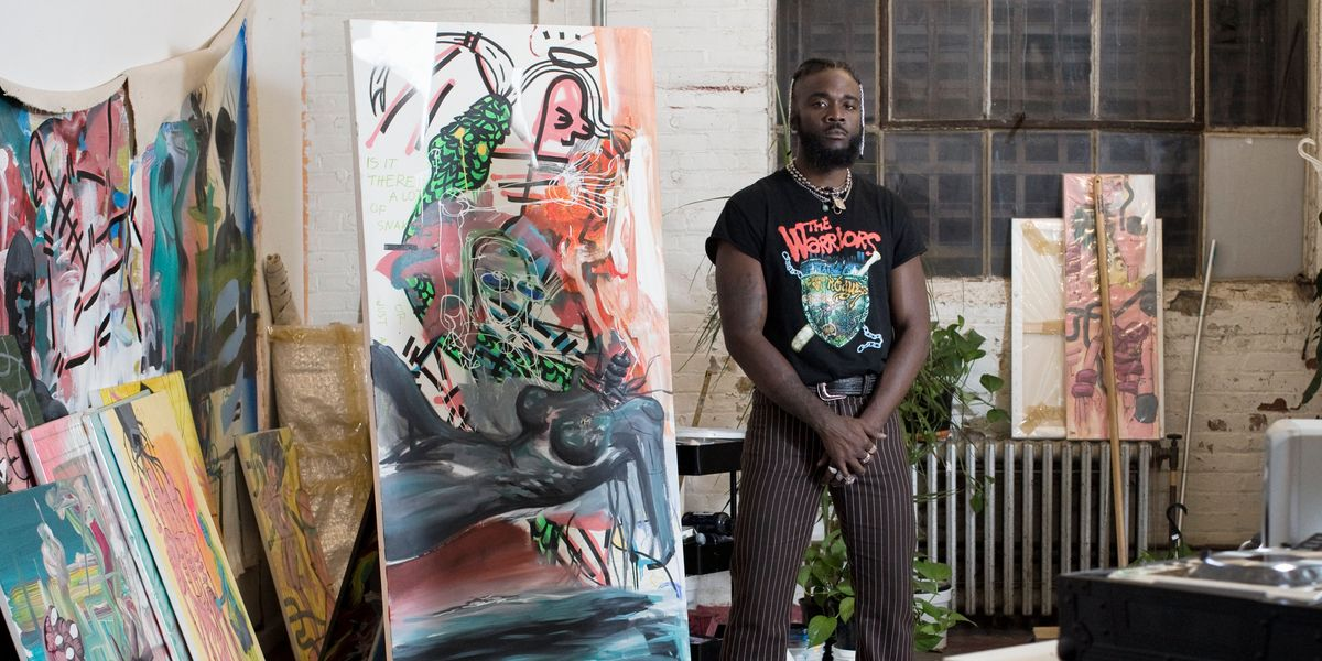 Gianni Lee Debuts His First Solo Art Exhibition in Atlanta