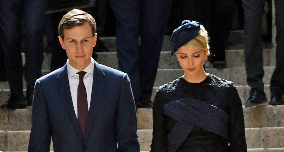 'Glossy grifters' Ivanka and Jared threw it all away for Trump -- and now they'll pay: NYT columnist
