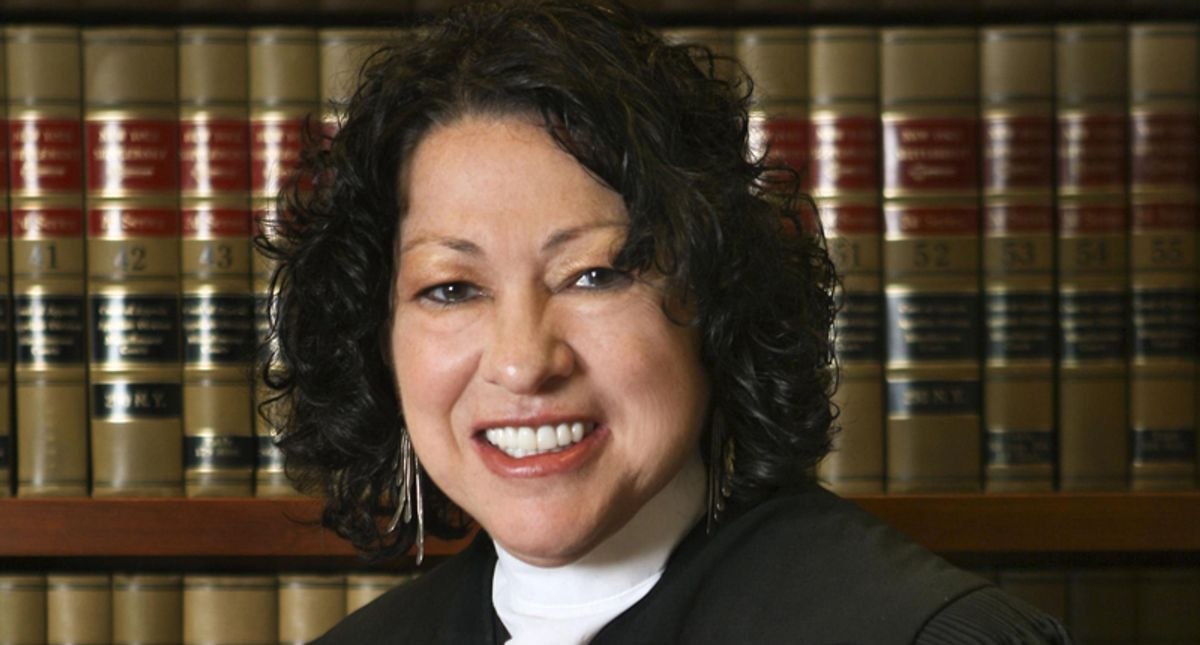 Federal judge reveals her son's killer also had a dossier on Justice Sonia Sotomayor