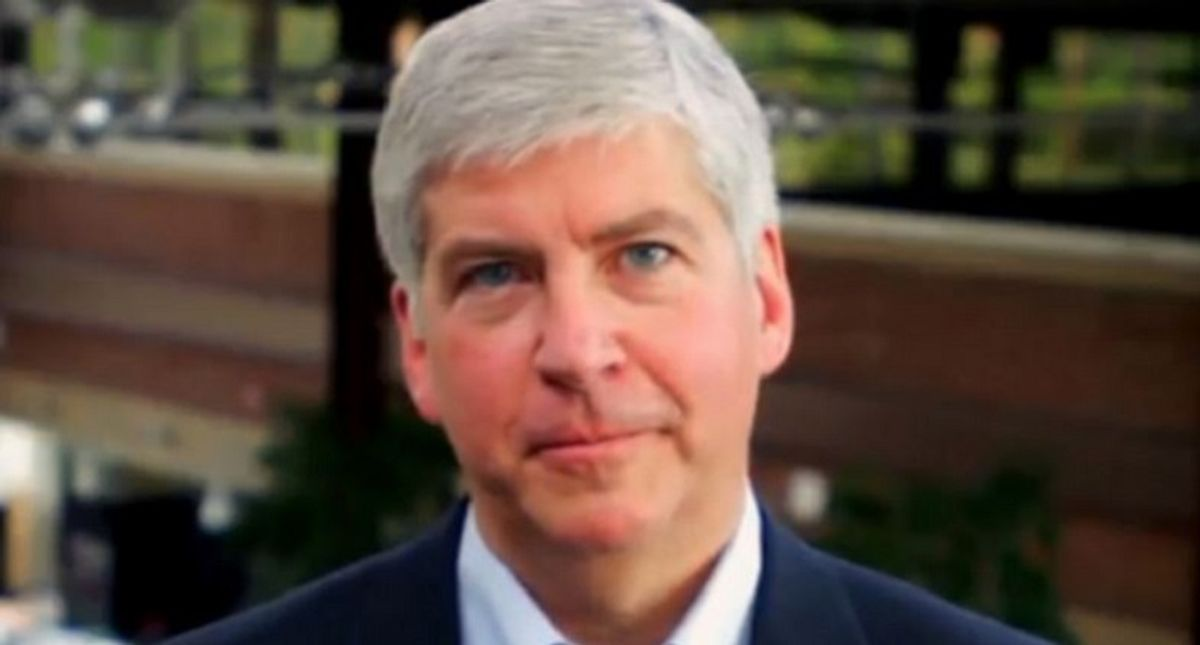 'That is not justice!' Outrage as Rick Snyder hit with just two misdemeanor counts over role in Flint water crisis