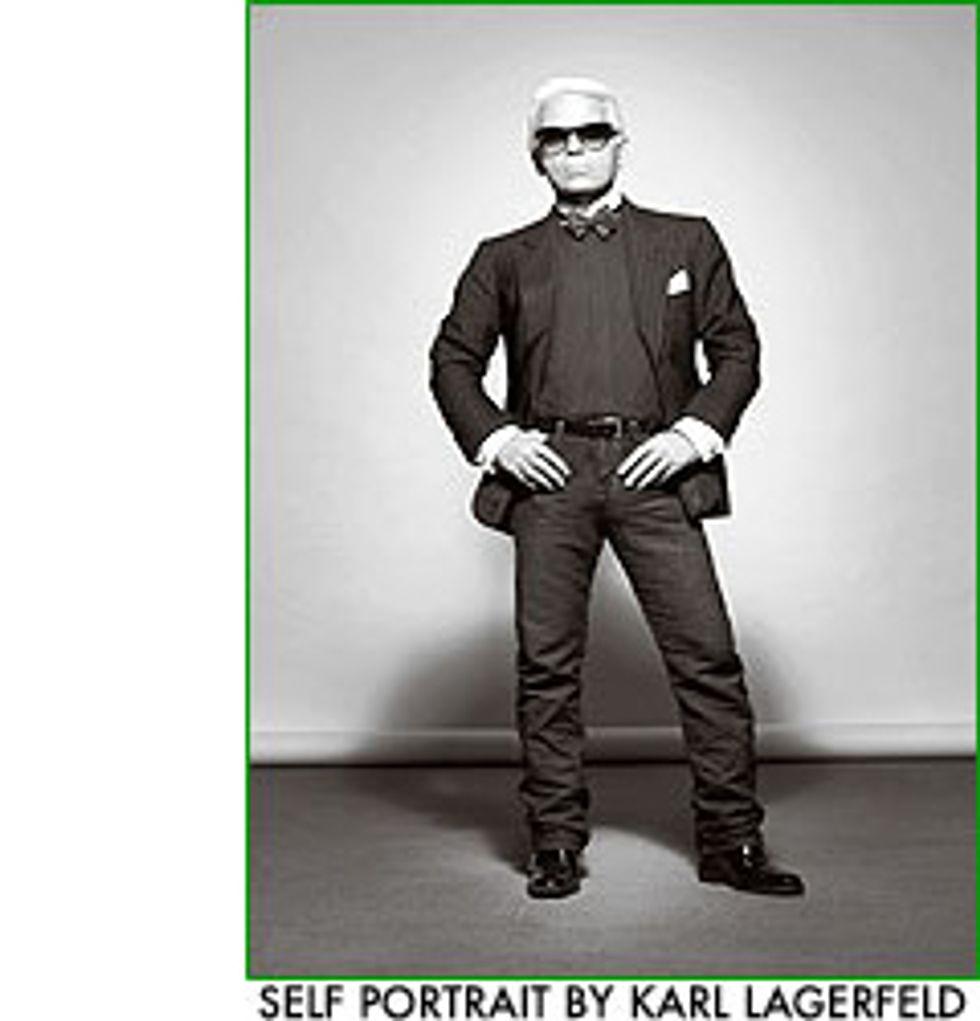 Mix Master: Karl Lagerfeld