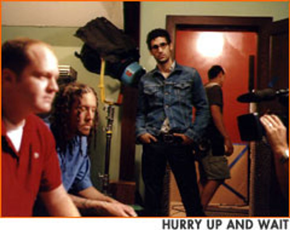 Making the Korn Video