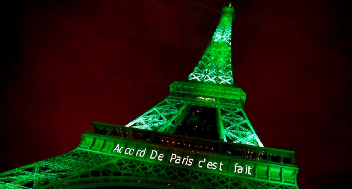 US officially back in Paris accord, vows climate action
