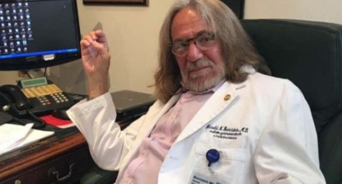 Doctor who infamously praised Trump's 'extraordinary physical strength and stamina' passes away at 73