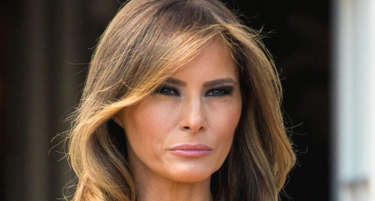 Melania buried for touting 'legacy' of her 'Be Best' initiative one week after Trump fans attacked Congress