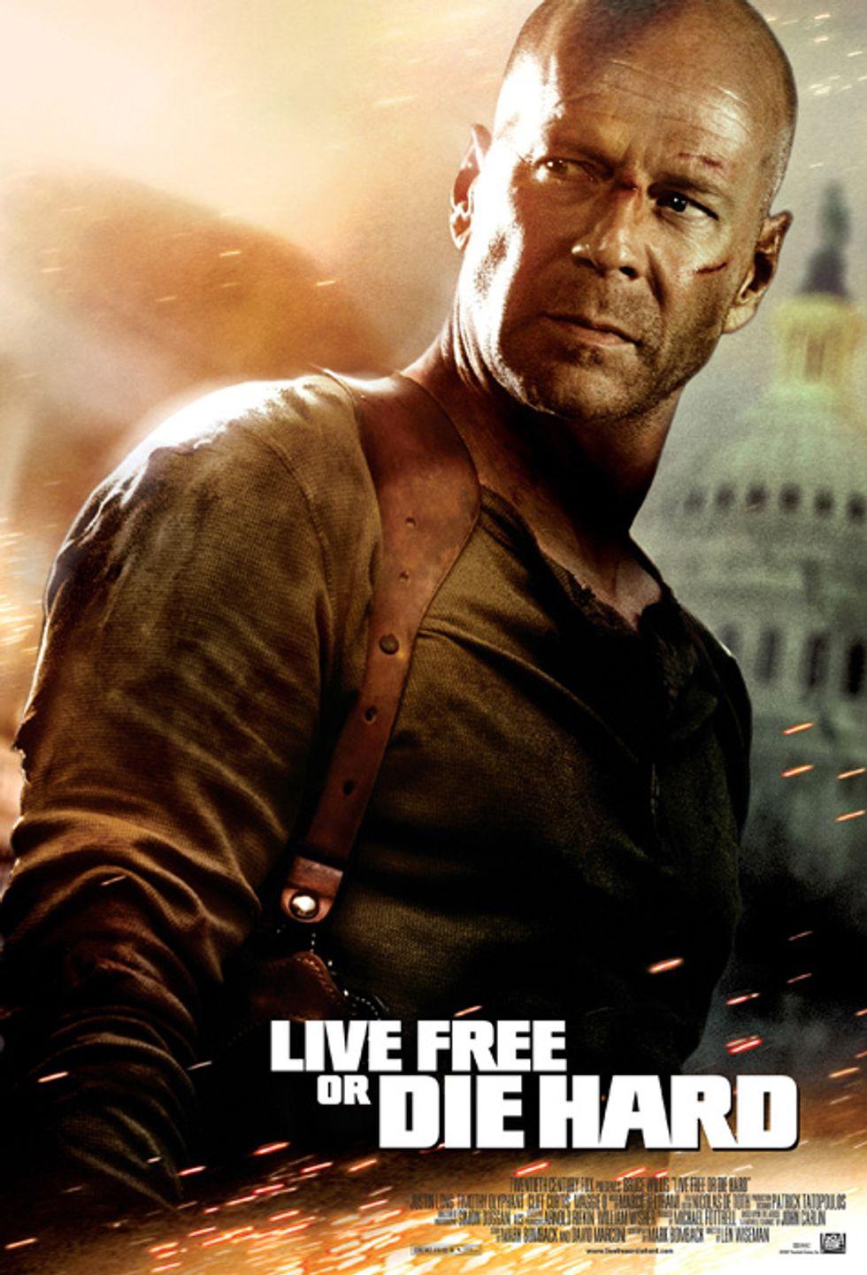 Live Free or Die Hard Premiere
