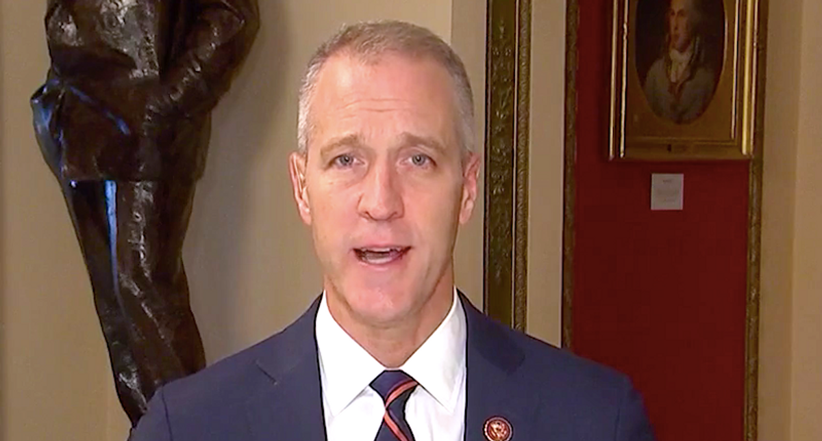 Furious congressman reveals members still haven't had a security briefing after Trump insurrection