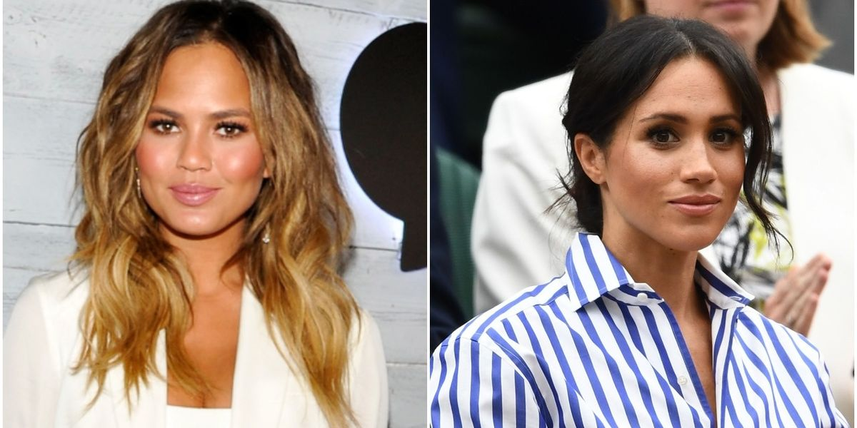 Chrissy Teigen Defends Meghan Markle's Decision to Share Her Miscarriage Story