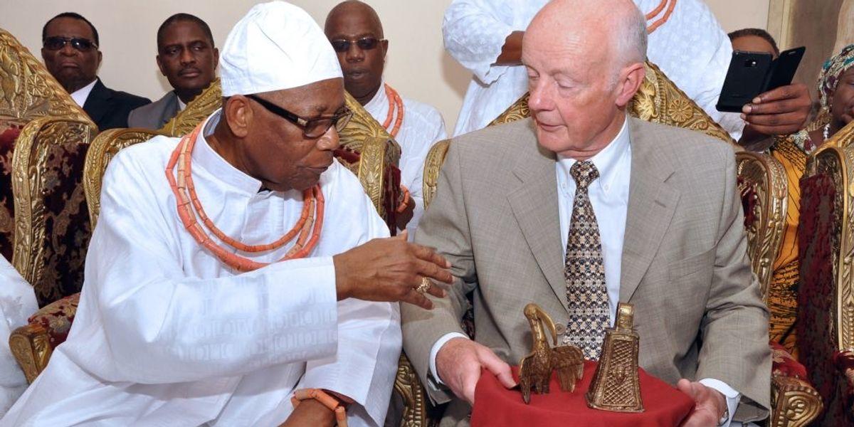 <div>The Netherlands Returns Nigeria's Centuries-Old Stolen Artefact</div>