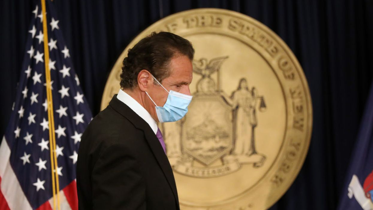 Gov. Andrew Cuomo accuses the Supreme Court of politicizing COVID-19 after it struck down his house of worship regulations