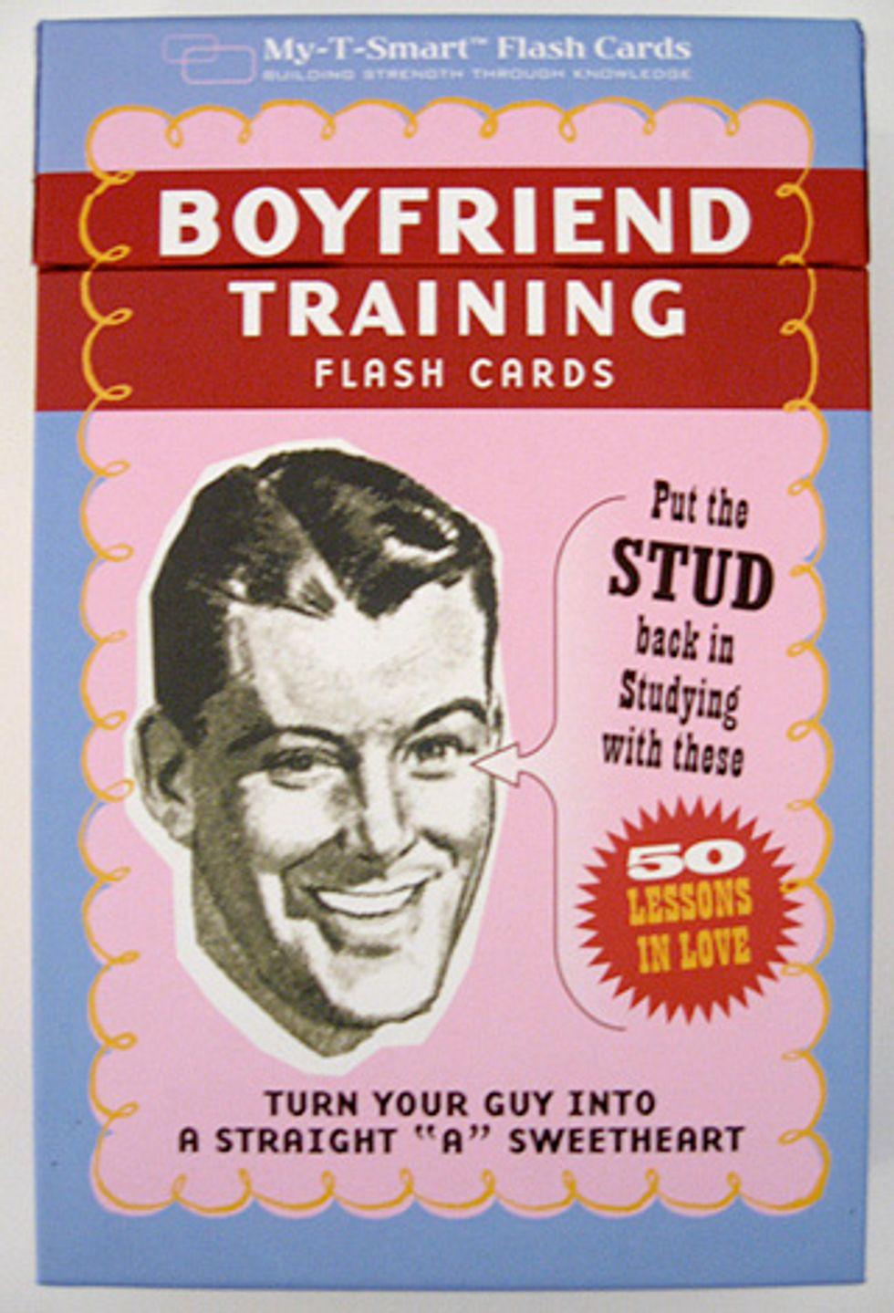 Take That: Boyfriend Training Flash Cards
