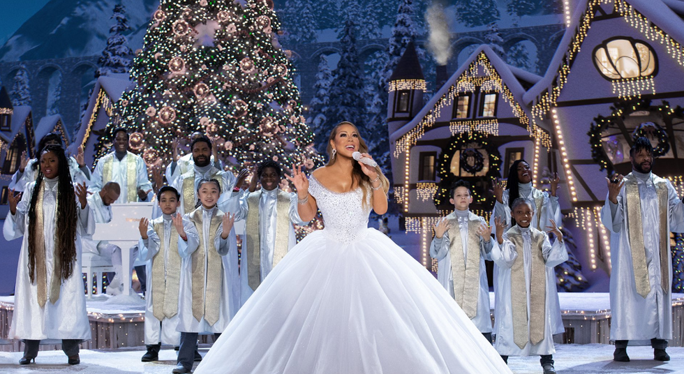 The 5 Things We ALL Want For Christmas In Mariah Carey's New Special
