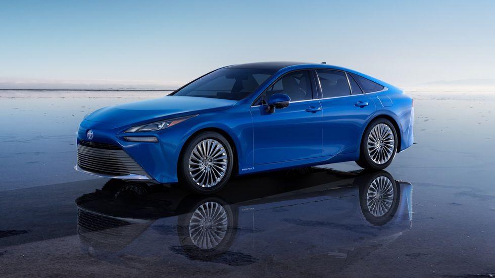 2021 Toyota Mirai hydrogen fuel cell car
