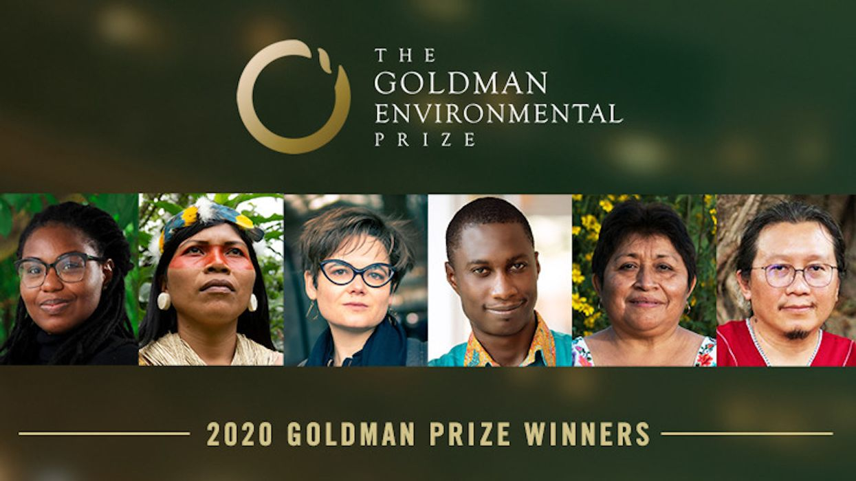 6 Grassroots Activists Win 'Green Nobel Prize'