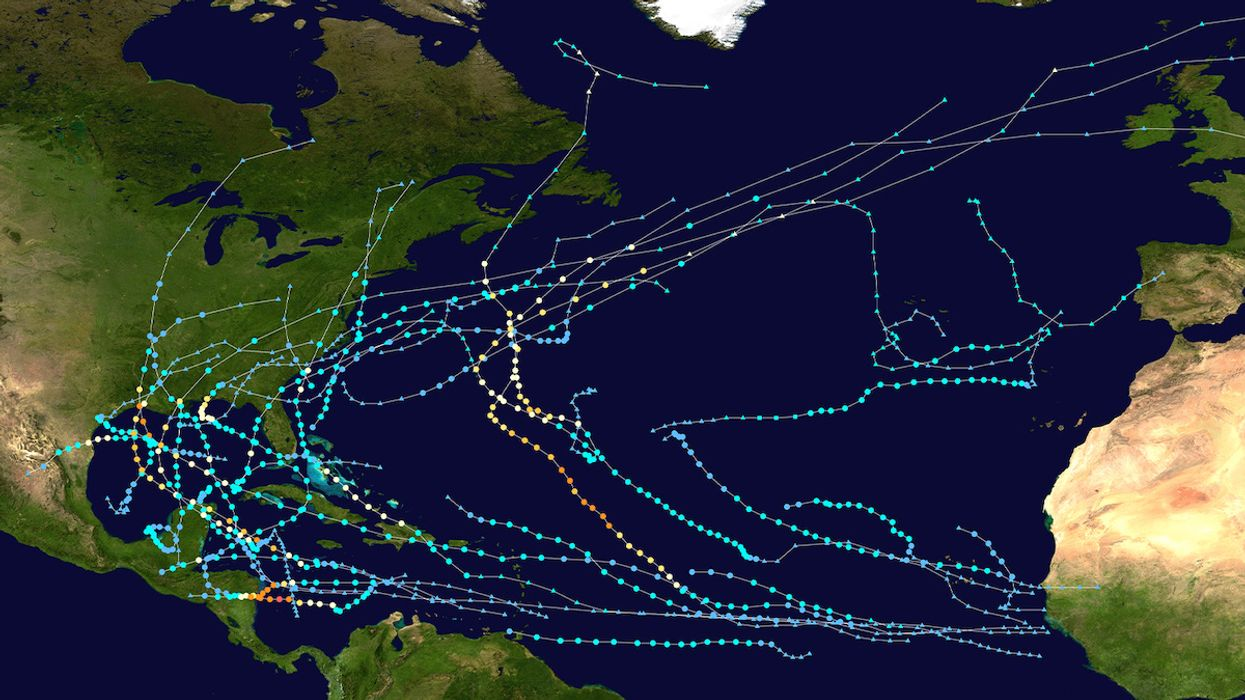Rapid Intensification and Number of Storms Make 2020 a Record Hurricane Season