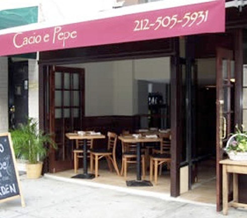 Restaurant of the Week: Cacio e Vino
